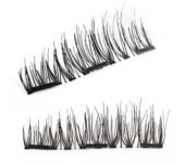 Ресницы на магнитах N012 (Черные)