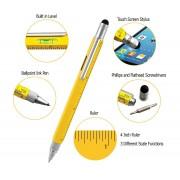 Ручка-мультитул Monteverde стилус (Желтый)
