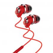 Наушники Remax RM-585 metal touching Earphone (Красный)