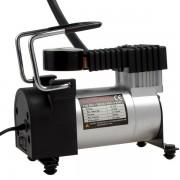 Поршневой автомобильный компрессор 501 (Черный с серебром)