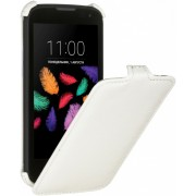 Чехол Armor Флип-кейс для Flip для LG X style K200DS (Белый)