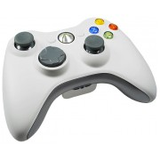 Джойстик для Microsoft Xbox 360 Wireless Controller (Белый)