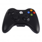 Джойстик для Microsoft Xbox 360 Wireless Controller (Черный)
