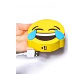 Повер банк Power Bank объем 4000 mAh дизайн Смайл смех