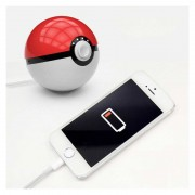 Повер банк Power Bank объем 7000 mAh дизайн Покемон Pokeball (Шар)
