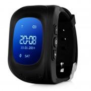 Умные часы Smart Baby Watch Q50 с GPS трекером (Черный)