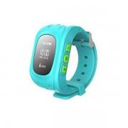 Умные часы Smart Baby Watch Q50 с GPS трекером (голубой)