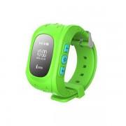 Умные часы Smart Baby Watch Q50 с GPS трекером (Зеленый)