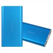 Внешний аккумулятор Remax Vanguard 10000 мАч Power Bank Power Box металлический корпус (Синий)