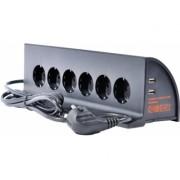 Сетевой фильтр InterStep SP-306W (Черный)