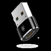 Переходник Baseus USB на Type-C CAAOTG-01 (Черный)
