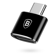 Переходник Baseus USB to Type-C на USB Type A CATOTG-01 (Черный)