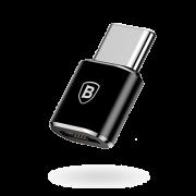 Переходник Baseus USB to Type-C на USB Type Micro CAMOTG-01 (Черный)