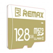 Карта памяти Remax Micro SD Card 128G C10 (Коричневый)