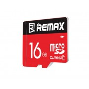 Карта памяти Remax Micro SD Card 16Gb C10 (Красный)