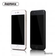 Защитное стекло Remax Caesar 3D для iPhone 7 plus, 8 plus (Черный)