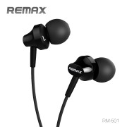 Наушники Remax Earphone RM-501 (Черный)