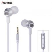Наушники Remax Earphone RM-610D (Серебро)