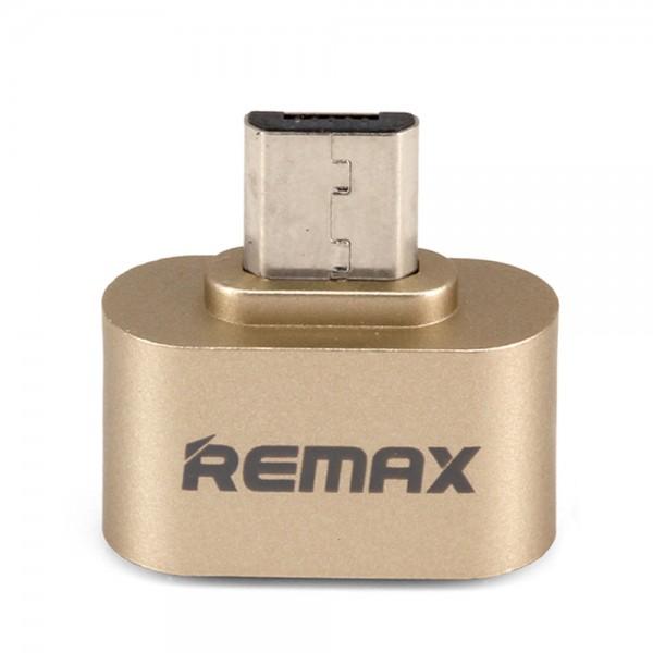 Адаптер Remax OTG Micro-USB RA OTG (Серебро)