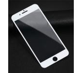 Защитное 3D 5D стекло Premium для iPhone 7/8 (Белый)