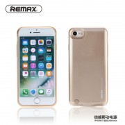 Аккумуляторная батарея-чехол Power case Remax для iPhone7 (Золото)