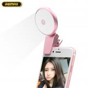 Вспышка для селфи Remax Selfie Spot (Розовый)