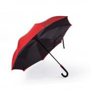 Двусторонний обратный зонт Remax Umbrella RT-U1 (Красный)