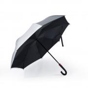 Двусторонний обратный зонт Remax Umbrella RT-U1 (Серебро)