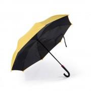 Двусторонний обратный зонт Remax Umbrella RT-U1 (Желтый)