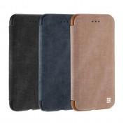 Зимний кожаный чехол Remax для iPhone7 (Черный)