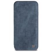 Зимний кожаный чехол Remax для iPhone7 plus (Голубой)