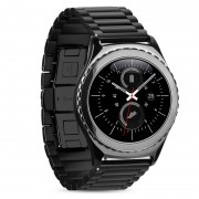 Ремешок для часов Samsung Galaxy Gear S2 classic Grand series 3 Hoco Pionters Metal Watchband металлический (Черный)