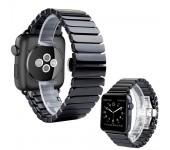 Ремешок для часов Apple Watch браслет керамический (Черный 42)