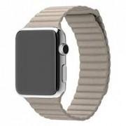 Ремешок для Apple Watch кожаный магнитный 42 (Бежевый)