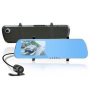 Автомобильный видеорегистратор Epllutus с Android и 2-мя камерами D22 (Черный)