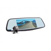 Автомобильный видеорегистратор-зеркало с 2-мя камерами Eplutus D69 (Черный)