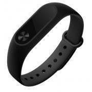 Силиконовый ремешок для Xiaomi Mi Band 2 (Черный)