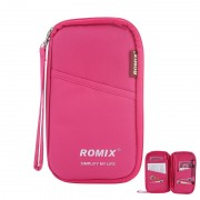 Органайзер для документов, тревел-кейс Romix RH51 (Розовый)