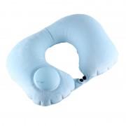 Подушка надувная Romix для шеи с ручной накачкой RH50 (Голубой)