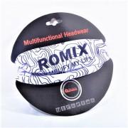 Повязка на голову для занятий спортом Romix RH49 (Белый)