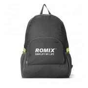 Складной дорожный рюкзак Romix RH27 (Черный)