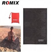 Туристический плед Romix RH33 140х170 см (Черный)