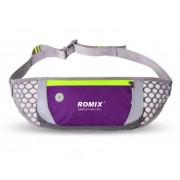 Сумка для бега на пояс Romix RH74 (Фиолетовая)