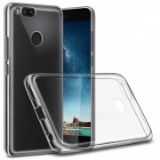 Чехол силиконовый мягкий для Xiaomi Mi A1 (Прозрачный)