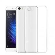 Чехол силиконовый мягкий для Xiaomi Mi5 (Прозрачный)