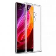 Чехол силиконовый мягкий для Xiaomi Mi Mix 2 (Прозрачный)