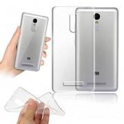 Чехол силиконовый мягкий для Xiaomi Redmi Note 3 (Прозрачный)