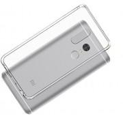 Чехол силиконовый мягкий для Xiaomi Redmi Note 4X (Прозрачный)