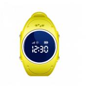 Детские водонепроницаемые часы Smart Baby Watch Q520S (Желтый)