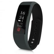 Водонепроницаемый смарт-браслет часы w808s (Черно красный)